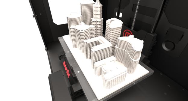 Stampante 3D makerbot Replicator