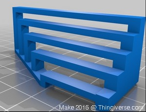 02-Make2015 3D-Printer-Bridging-Test-Model