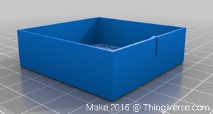 06-Make2015 3D-Printer-XY-MechRes-Test-Model