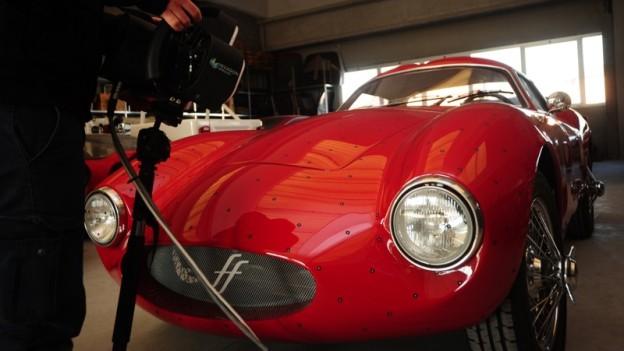 Solid Energy esegue la scansione 3D della carrozzeria della prima Berlinetta Effeffe per ottenere la mesh con la reverse engineering