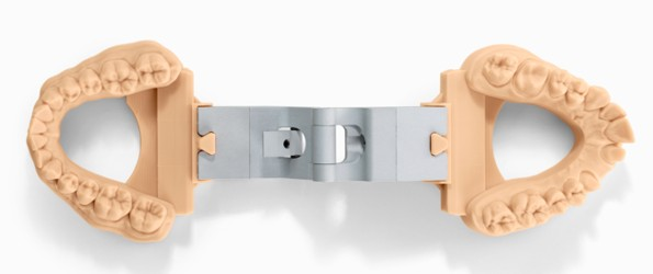 stampa 3d modello dentale con articolatore