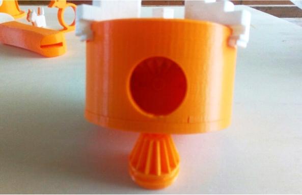 mandrino tornio stampa 3d Makerbot