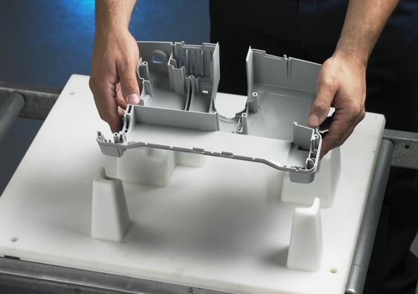 Maschera di posaggio stampata in 3D