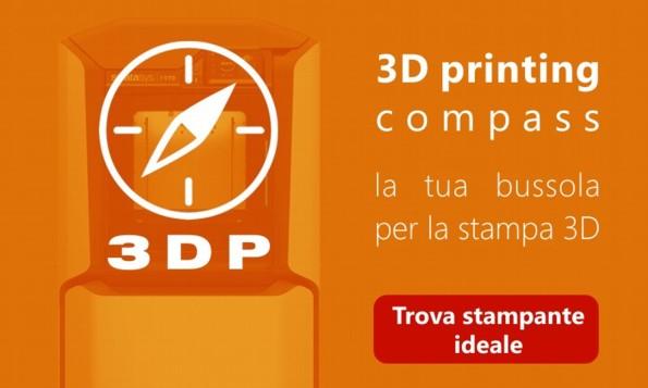 3D Printing compass - configuratore stampanti 3d