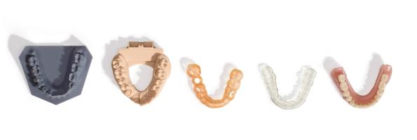 Gamma resine per applicazioni dentali con stampanti 3D Formlabs