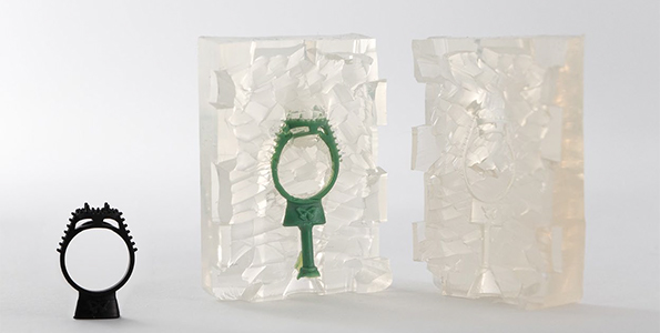 Stampa 3D - Master per gioielli in silicone