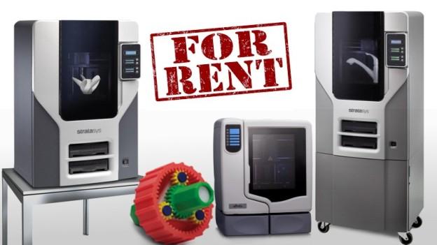 Stampanti 3D professionali a noleggio
