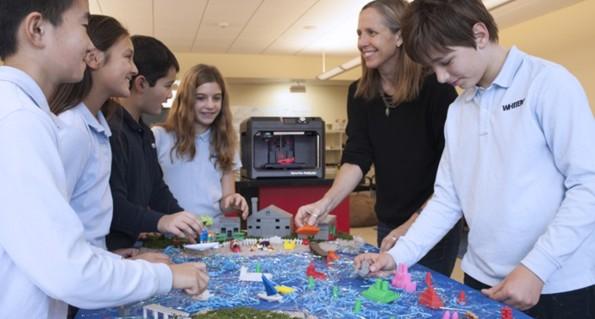 Stampante 3d MakerBot e studenti