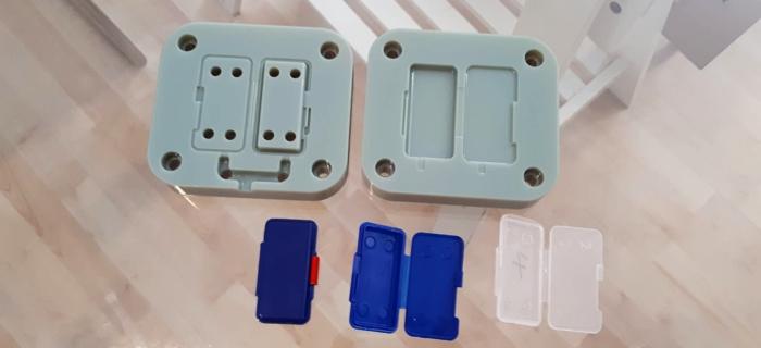 Tasselli ottenuti con stampa 3D PolyJet Stratasys