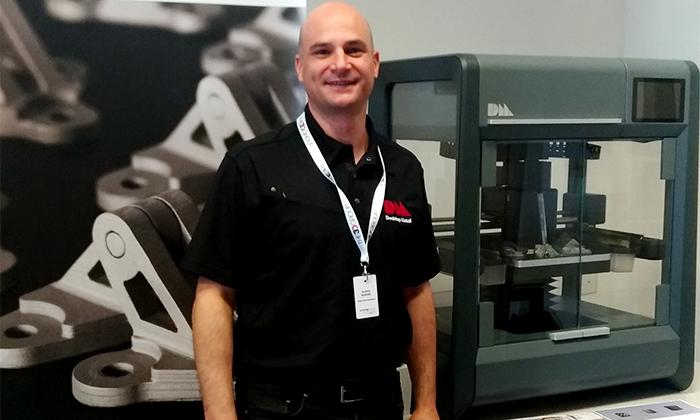 Filippo Bonora di Energy Group - Sales specialist stampanti 3D metallo Desktop Metal