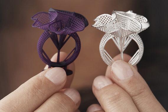 stampante 3d gioielli