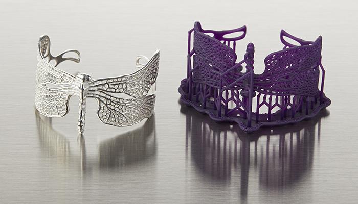 Gioiello stampato in 3D: bracciale