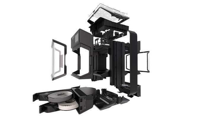 Method stampante 3d - Com'è fatta