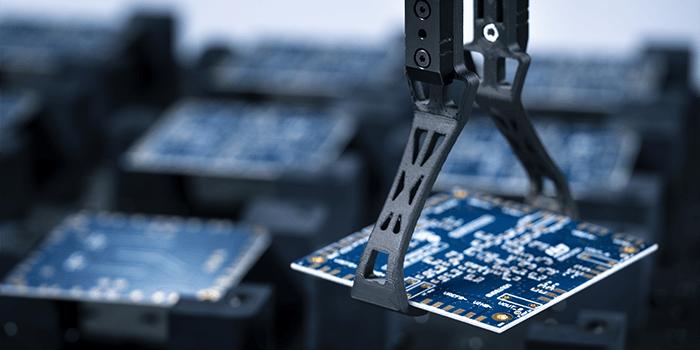 stampante 3d fibra carbonio - fine braccio movimentazione