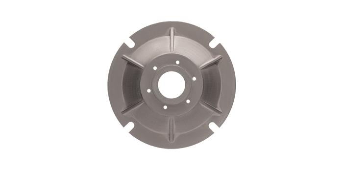 Prototipo flangia montaggio ingranaggio in metallo stampa 3d
