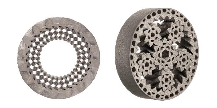 Ingranaggi complessi in metallo con stampa 3d