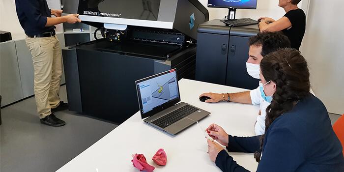 stampante 3D per organi stratasys a firenze