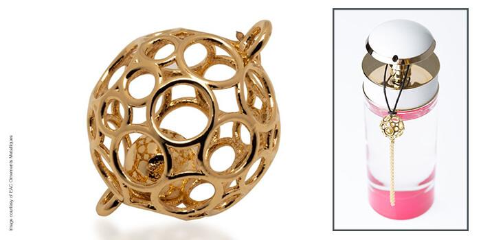 stampa 3d per metallo accessori moda