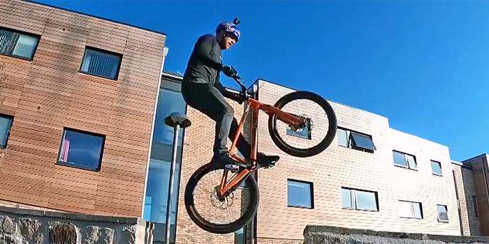 Stampa 3d per lo sport: Santa Cruz Bicycles - bici in carbonio