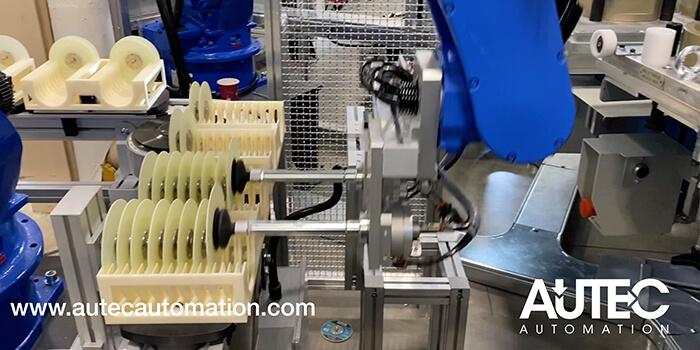stampante 3D stratasys F370 - parti linea automazione stampate in 3d