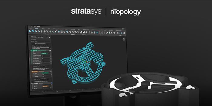 nTopology Stratasys FDM Fixture generator