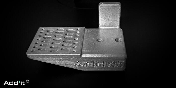 ottiimizzazione topologica + stampa 3D metallo pinza robot
