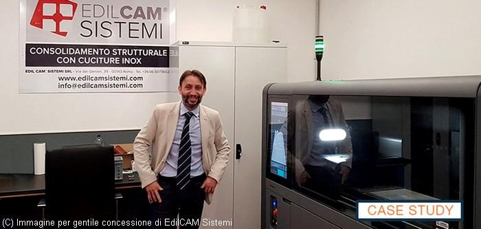 stampa 3d in metallo - Desktop Metal Shop System in EdilCAM Sistemi